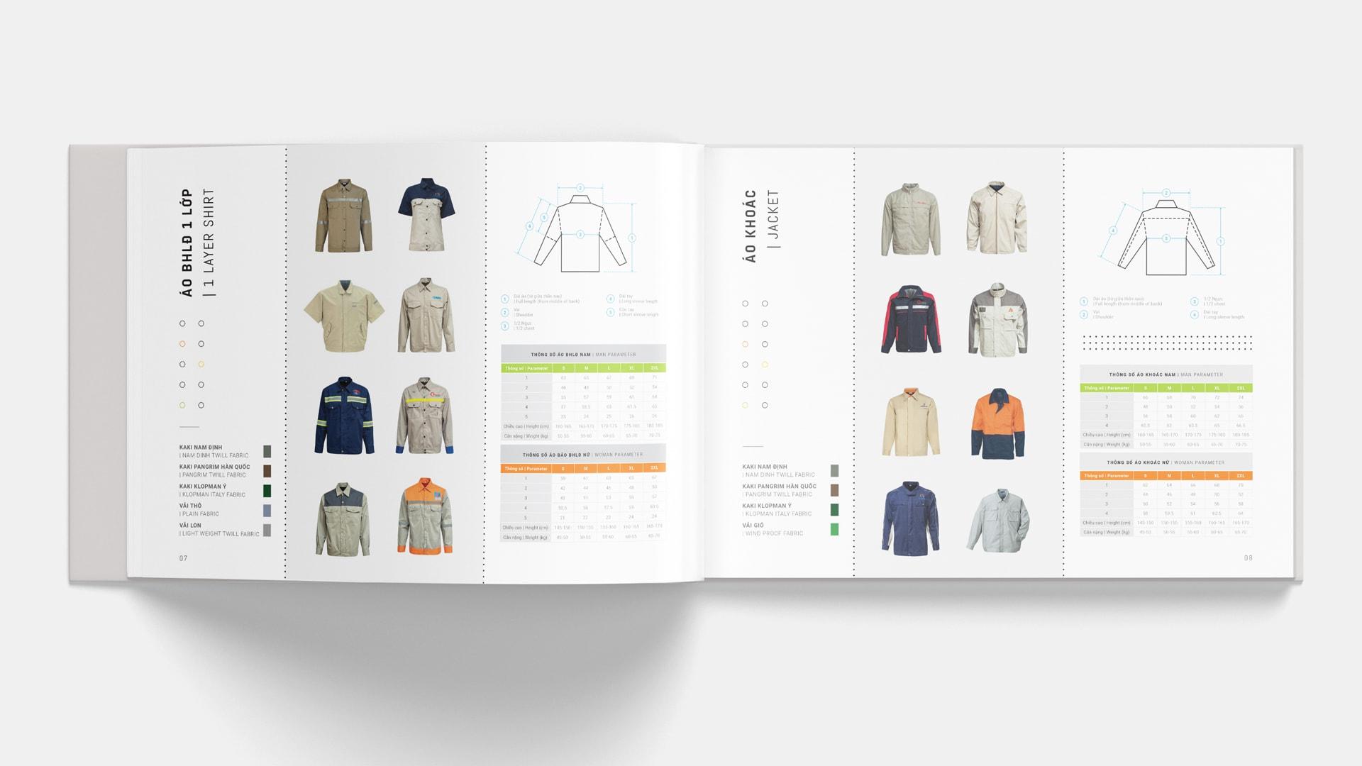 hình ảnh sản phẩm trong catalogue
