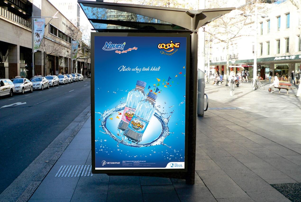Poster nước uống tinh khiết Gooding